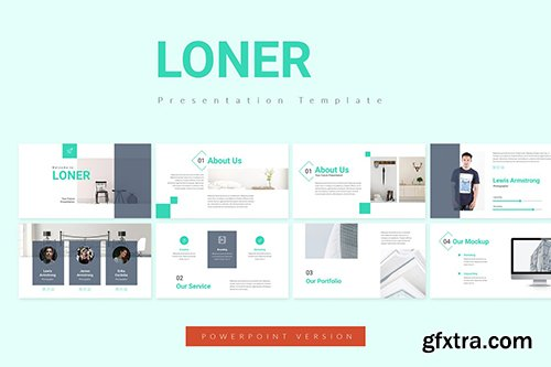 Loner Powerpoint, Keynote and Google Sliders