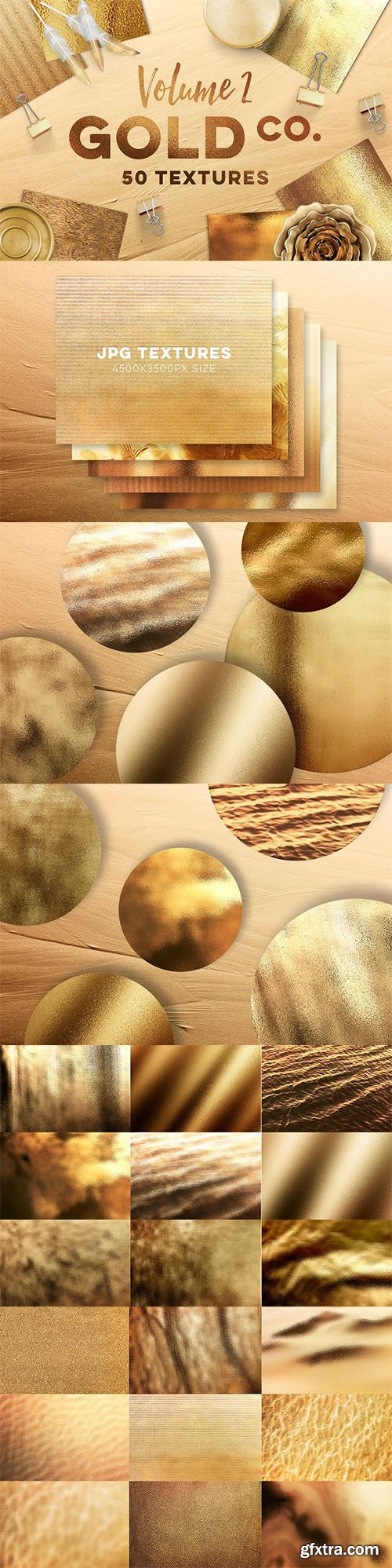50 Gold Textures