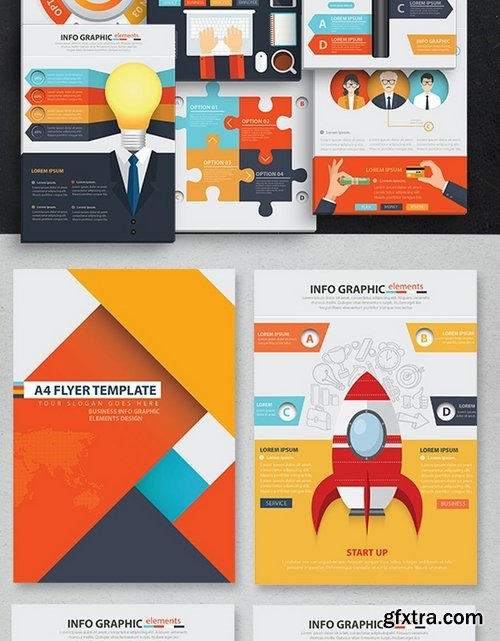 Business Start Up Infographic Design 25 Pages