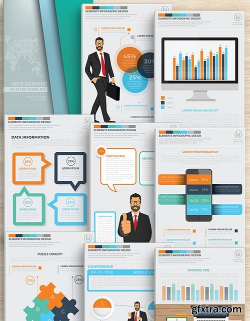 CEO Infographics Design 17 Pages