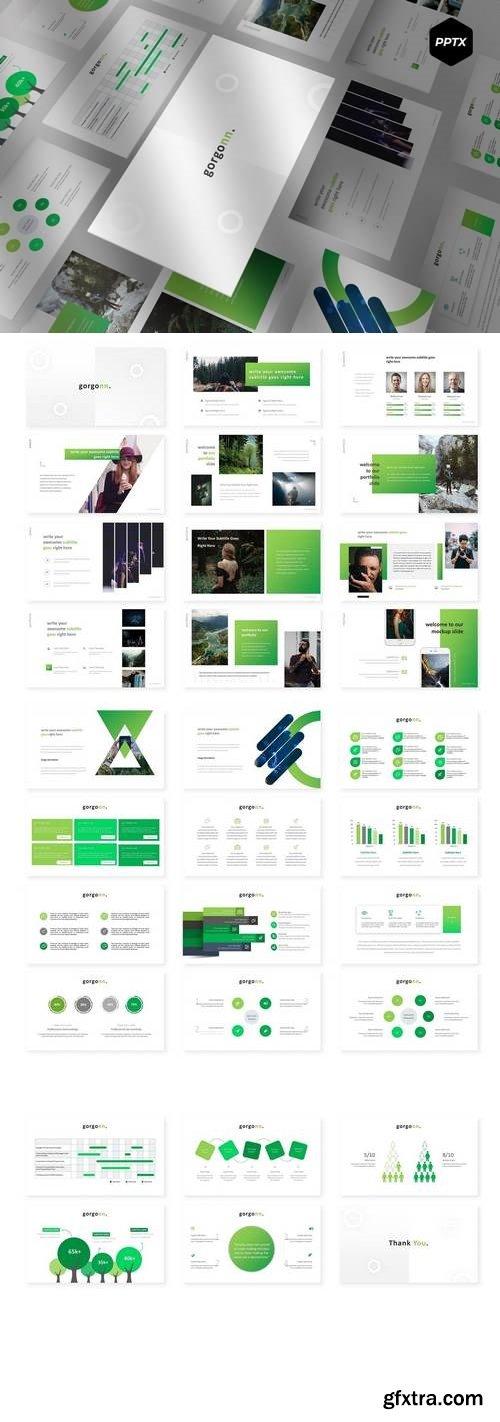 Gorgon - Powerpoint, Keynote, Google Sliders Templates