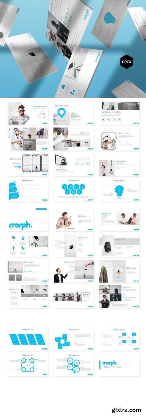 Morph °19 - Powerpoint, Keynote, Google Sliders Templates