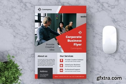 Corporate Business Flyer Vol 12