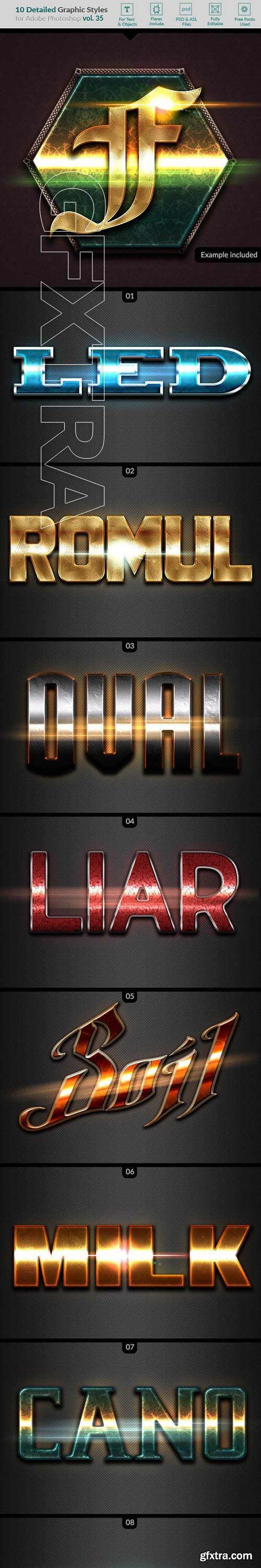 GraphicRiver - 10 Text Effects Vol 35 22986730