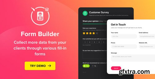 CodeCanyon - Form Builder v1.1.1 - WordPress Form plugin - 22496923