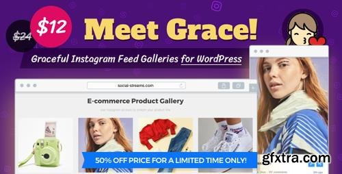 CodeCanyon - Instagram Feed Gallery v1.1.6 - Grace for WordPress - 20429911