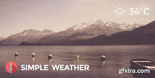 CodeCanyon - Weather WordPress Shortcode & Widget v4.3.2 - Simple Weather Plugin - 5458355