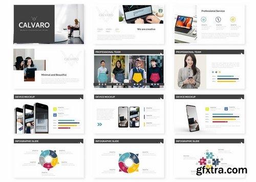 Calvaro - Powerpoint Keynote and Google Slides Templates