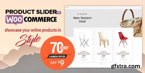CodeCanyon - Product Slider For WooCommerce v1.0.2 - Woo Extension to Showcase Products - 22645023