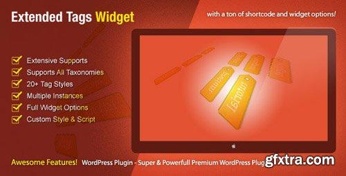 CodeCanyon - Extended Tags Widget v1.2.6 - WordPress Premium Plugin - 464929
