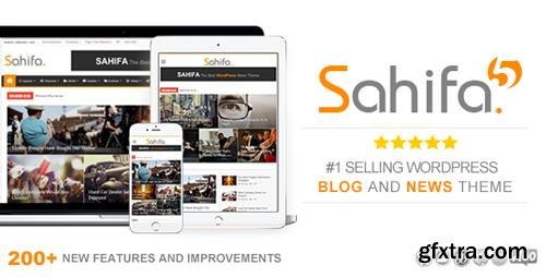 ThemeForest - Sahifa v5.6.11 - Responsive WordPress News / Magazine / Blog Theme - 2819356