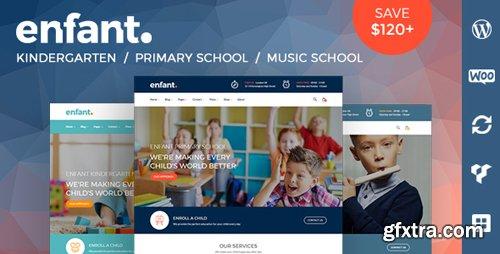ThemeForest - Enfant v2.3 - School and Kindergarten WordPress Theme - 20121401