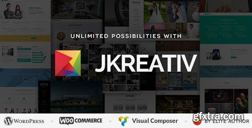 ThemeForest - Jkreativ v2.5.0 - Multilayer Parallax MultiPurpose Theme - 7886004