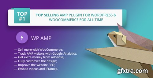 CodeCanyon - WP AMP v9.0.9 - Accelerated Mobile Pages for WordPress and WooCommerce - 16278608