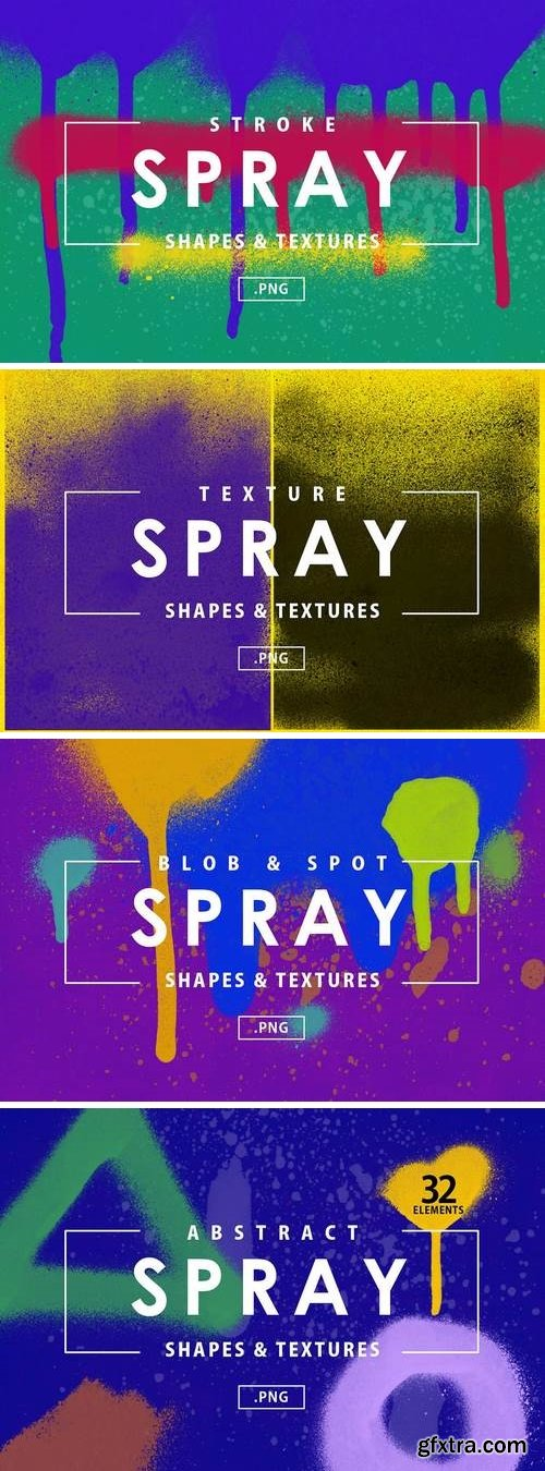 Spray Shapes Bundle