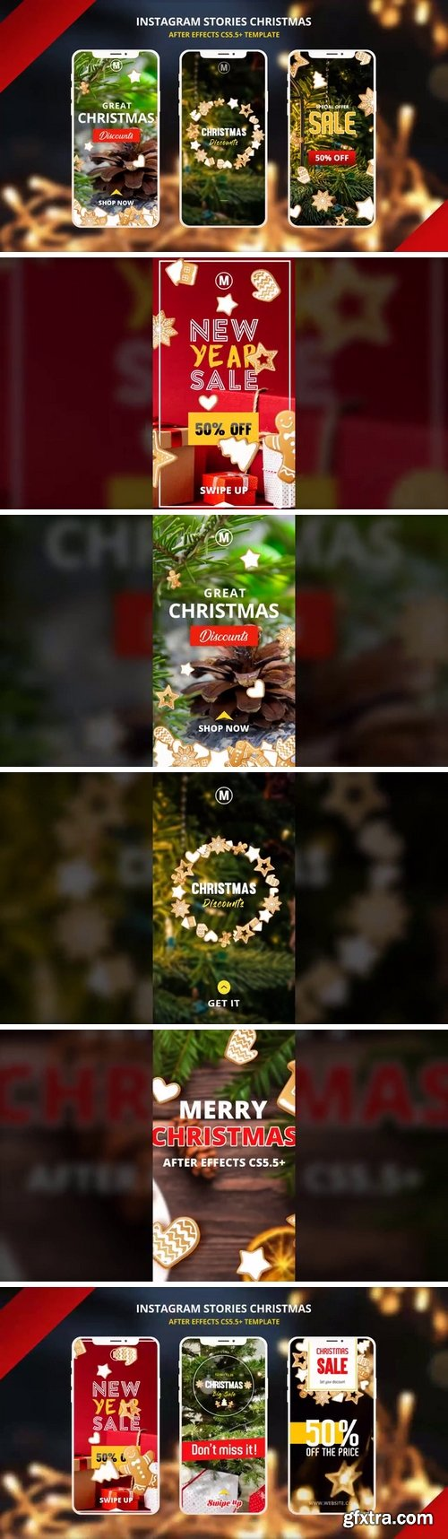 MA -  Instagtam Christmas Stories After Effects Templates 150318