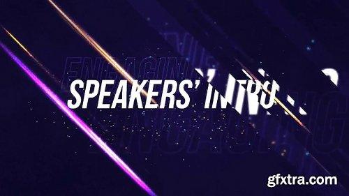 Videohive Speakers\' Intro 20214300