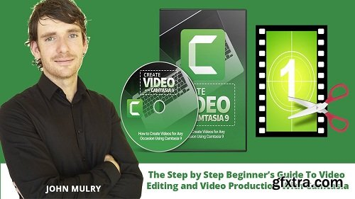 Video Editing and Video Production Made Easy with Camtasia Studio 9 - Beginner Friendly Video Course