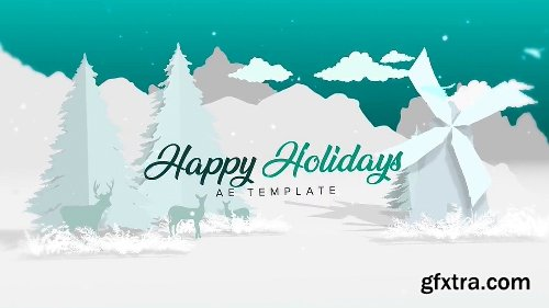 Videohive Christmas - White 22747607