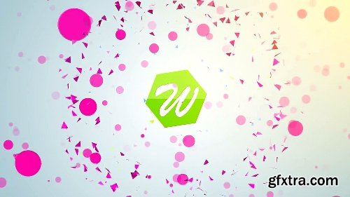 Videohive Shape Logo Reveal 5 In 1 12646700