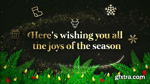 Videohive Christmas Greeting 22922031