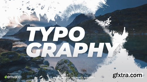 Videohive Ink Typography 22675294
