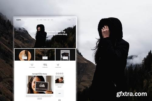 Suplee - Blog Template for Instagrammers