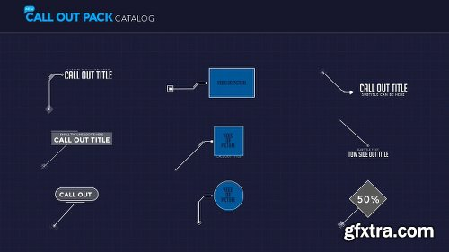Videohive Callout Pack 22448689