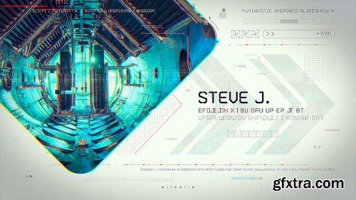 Videohive Futuristic Inspired Slideshow 22406980