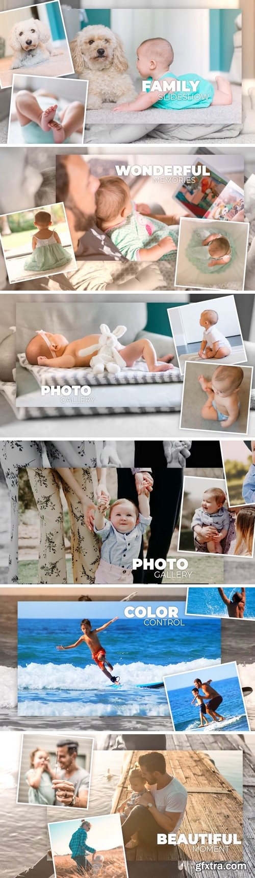 MA -  Family Slideshow After Effects Templates 150858
