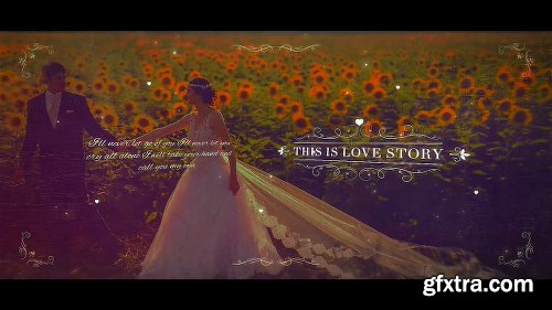 Videohive Wedding Parallax Slideshow 21011978