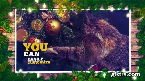 Videohive Christmas Slideshow Pack 8in1 22878599