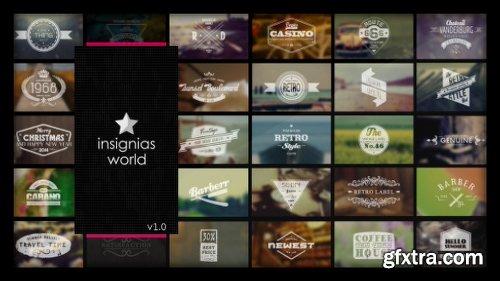 Videohive Insignias World 6837836