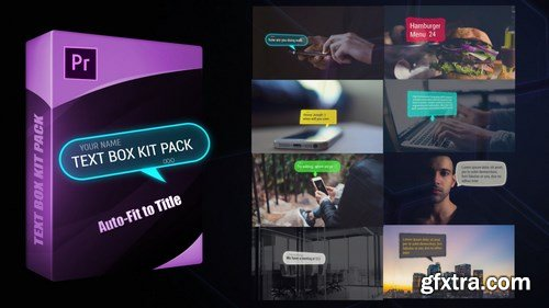 MA - Text Box Kit Pack Motion Graphics Templates 151860