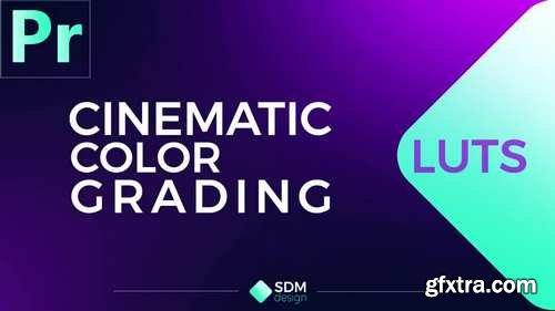 MA - Cinematic Color Luts Premiere Pro Presets 150811