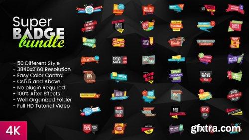 Videohive Super Badge Bundle 20127301