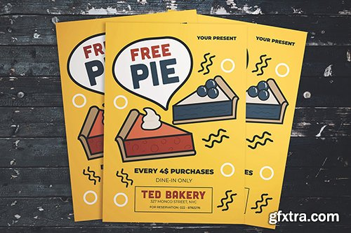 Free Pie Flyer