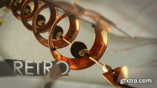 Videohive Retro Shatter Gallery 11039624