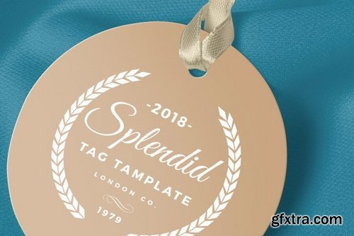 Luxury Tag Design Template