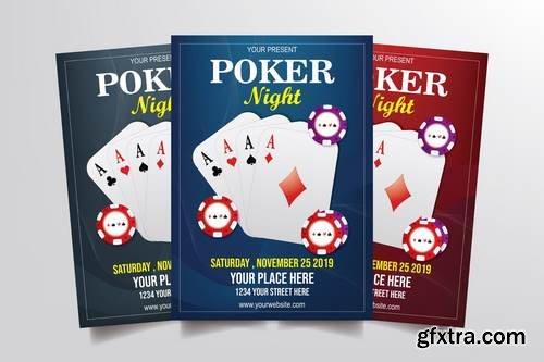 CM - Poker Night Flyer Template 3291082