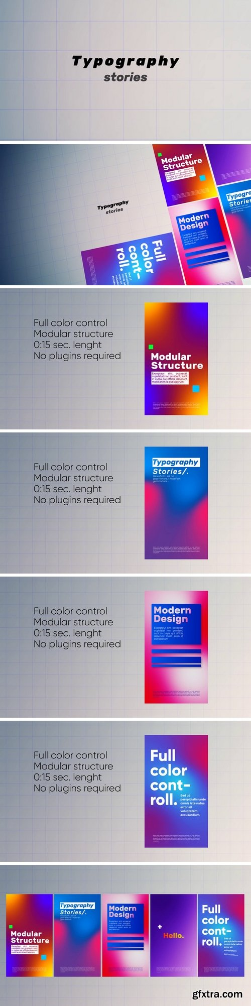 MA - Typography Stories After Effects Templates 151865