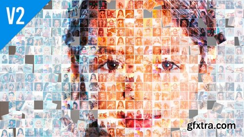 Videohive Mosaic Photo Animation Pro II 22566185