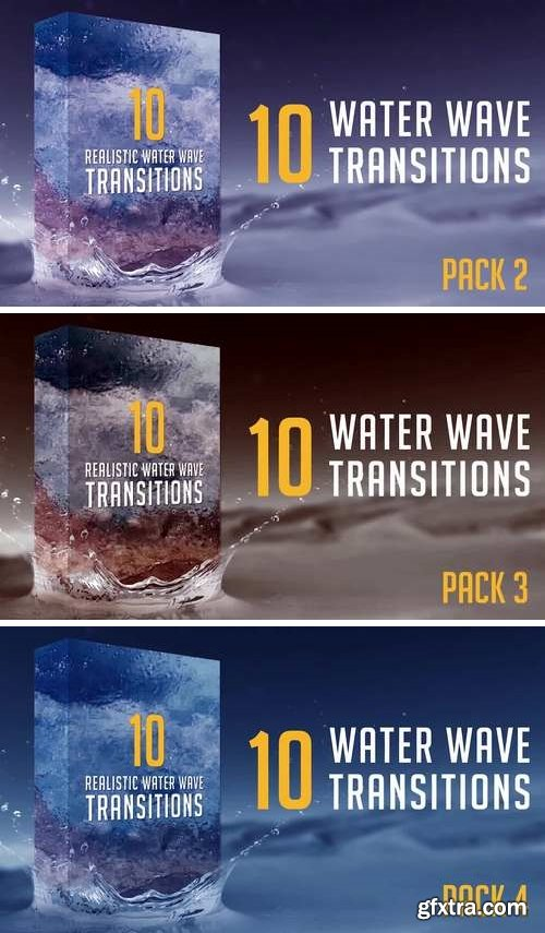 MA - Water Wave Transitions Pack 2,3,4
