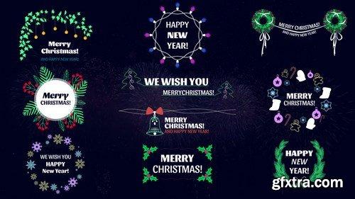 MA -  Christmas Titles Motion Graphics Templates 152363