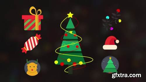 MA - Christmas Elements Pack Motion Graphics Templates 152899