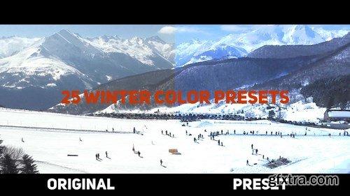 MA - Winter Color Presets Premiere Pro Presets 152140