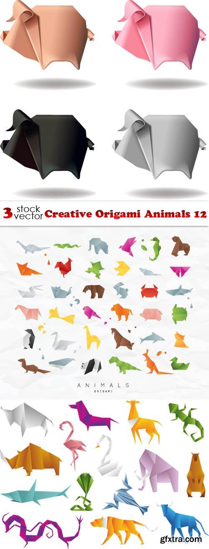 Vectors - Creative Origami Animals 12
