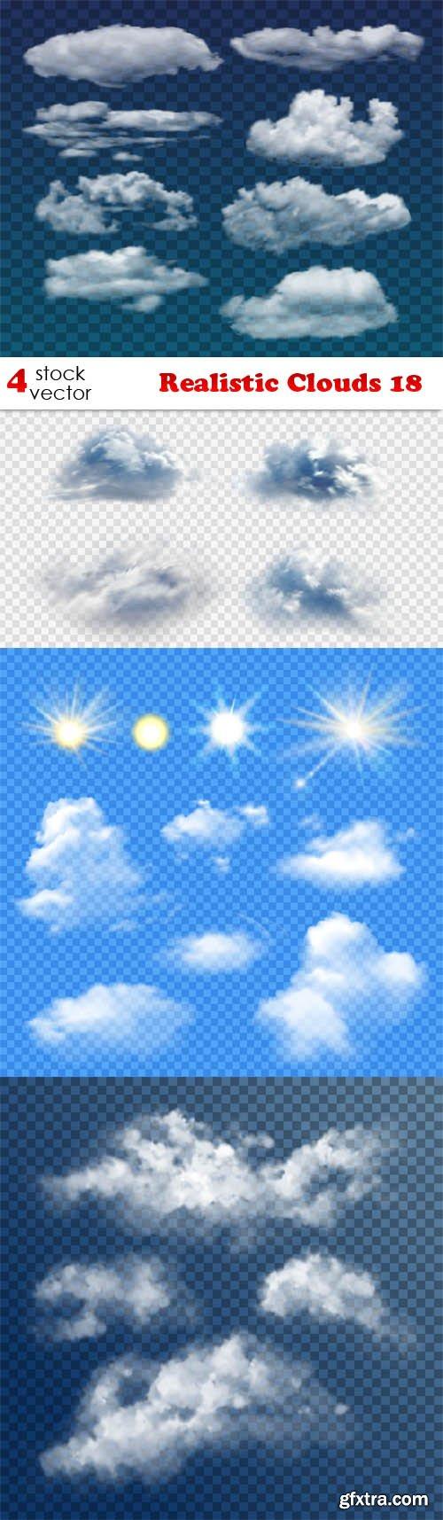 Vectors - Realistic Clouds 18