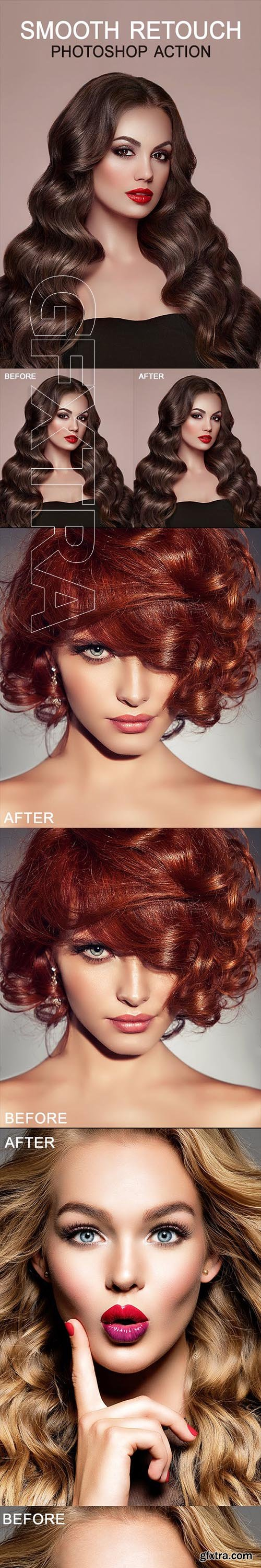 GraphicRiver - SMOOTH RETOUCH Photoshop Action 23019627