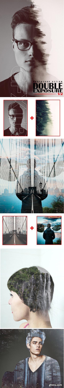 GraphicRiver - Double Exposure v2 Photoshop Action 23014938